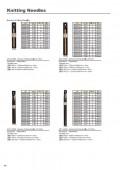 04-05 Bamboo Knitting Needles,Bamboo Crochet Hook,Wooden Knitting Needles,Size List of Bamboo Crochet Hooks