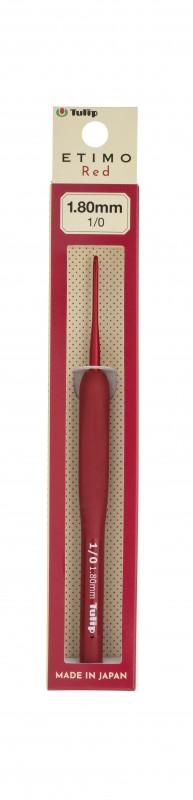 Tulip Etimo Red Crochet Hook W// Cushion Grip-Size 8//5.00mm
